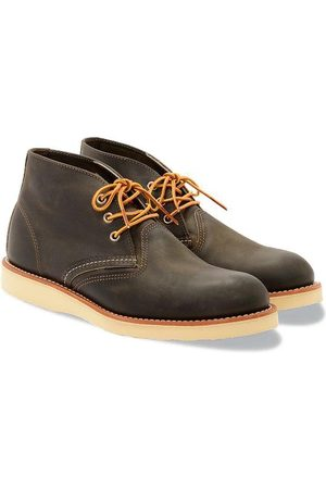 Red Wing Men Lace-up Boots - Chukka Boot 3150 Charcoal