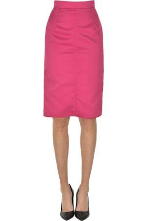 Nº21 Women Pencil Skirts - Satin pencil skirt