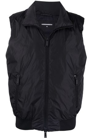 Dsquared2 Quilted zipper vest