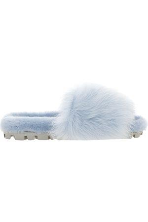 Miu Miu Women Sandals - Shearling slide