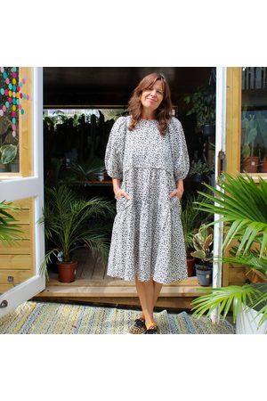Second Female Daisy Print Line Dress