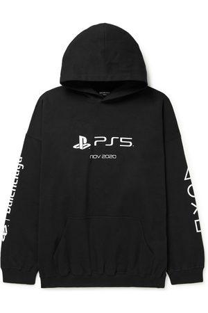 Balenciaga X Playstation Ps5 Hoodie Noir Noir Et Blanc En Noir/Blanc
