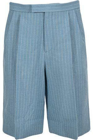 Gucci Men Bermudas - Pin stripes bermuda shorts