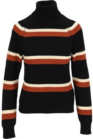 Marni Striped high neck jumper