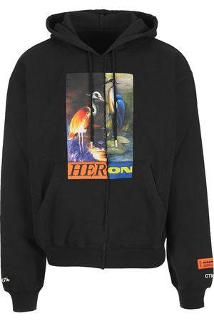 Heron Preston Men Hoodies - Split graphic hoodie