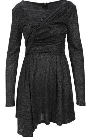 Msgm Lurex wrap dress