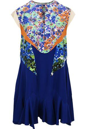 Stella McCartney Lydia floral-panel dress