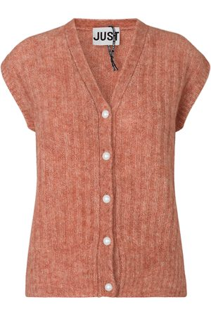 Just Female Lytt Ginger Vest Cardigan