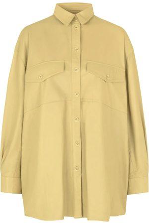 MDK / Munderingskompagniet Agnes Thin Leather Shirt - Sunshine