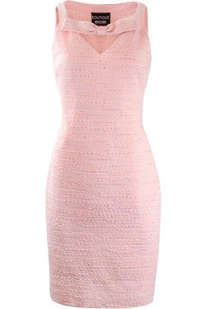 Moschino Boutique tweed Dress with Front Bow Detail