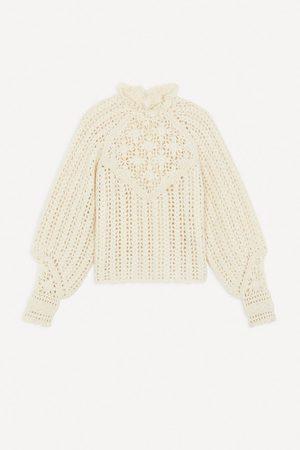 Ba & sh Women Sweaters - Aste Jumper Ecru