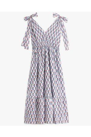 Pink City Prints Women Summer Dresses - Jasmine Long Dress Peach Blossom