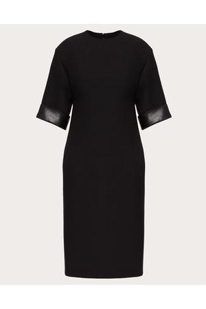VALENTINO Women Midi Dresses - Crepe Couture Dress Women 65% Virgin Wool 35% Silk 36
