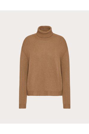 VALENTINO Women Sweaters - Cashmere Sweater Women Camel 100% Cashmere L