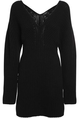 THEORY Women Party Dresses - Sculpted Wool & Cashmere Knit Mini Dress