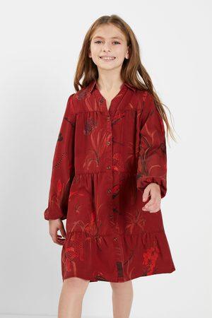 Desigual Girls Casual Dresses - Short shirt dress Lyocell