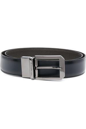 Ermenegildo Zegna Engraved-buckle belt