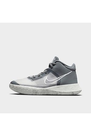 Nike Sneakers - Big Kids' Kyrie Flytrap 4 Basketball Shoes in /Summit Size 3.5 Leather