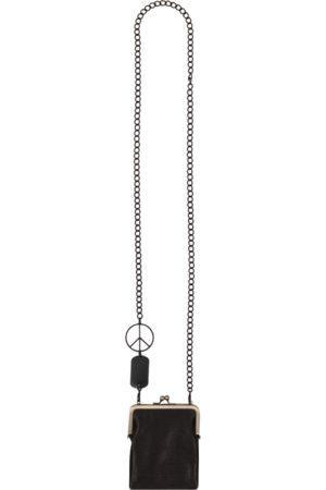 KAPITAL Men Rucksacks - Leather clasp chain pouch U
