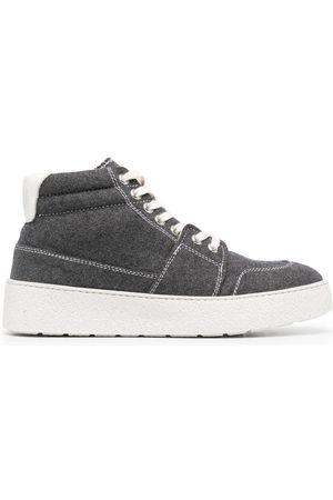 Ami Sneakers - Ami de Coeur high-top sneakers - Grey