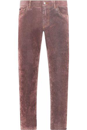 Dolce & Gabbana Men Slim - Tie-dye slim-fit jeans