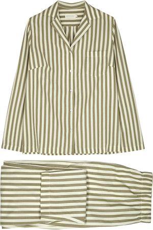 General Sleep Women Pajamas - Striped cotton pyjama set