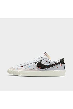 Nike Blazer Low '77 Paint Splatter Casual Shoes in / Size 8.0 Canvas