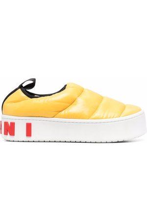 Marni Women Platform Sneakers - Padded platform sneakers