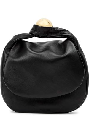 Jil Sander Women Clutches - Sphere medium leather clutch