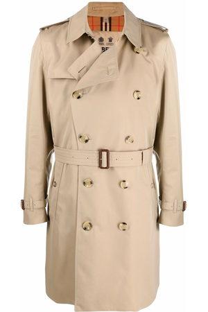 Burberry Men Trench Coats - The Kensington Heritage trench coat - Neutrals