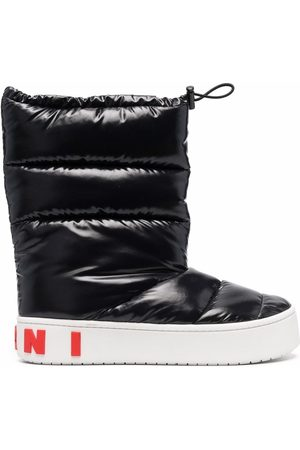 Marni Men Boots - Padded toggle-fastening boots