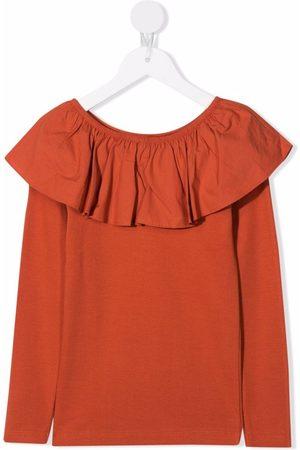 Molo Girls Blouses - Ruffle-detail blouse