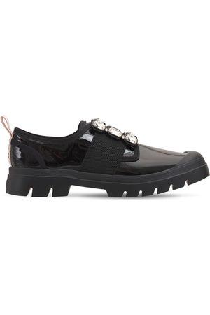 Roger Vivier Women Flat Shoes - 25mm Walkyviv Patent Slip-on Sneakers