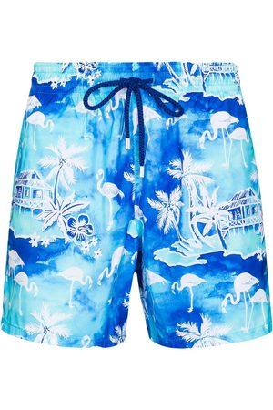 Vilebrequin Men Swim Shorts - Mahina printed swim shorts