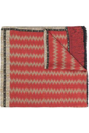 Etro Men Scarves - Paisley-print cashmere-silk scarf