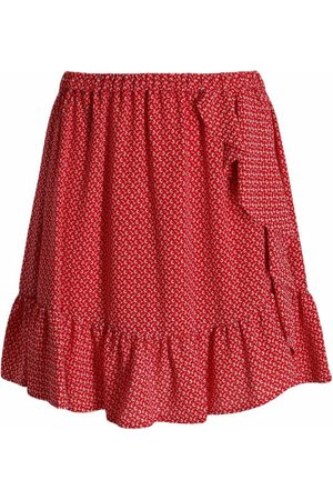 Michael Kors Women Printed Skirts - Floral-print ruffled mini skirt - 609