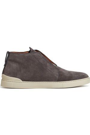 Ermenegildo Zegna Men Ankle Boots - Ankle suede boots - Grey