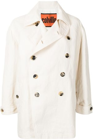 Colville Women Coats - Double-breasted tailored coat - Neutrals