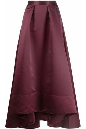 Pinko High-low pleated long skirt