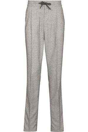 Brunello Cucinelli Men Pants - BRUNELLO LSE FIT TRS GRY - Grey