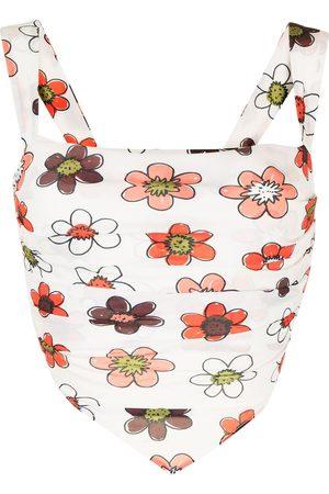 Miaou Women Tank Tops - Tati scarf top