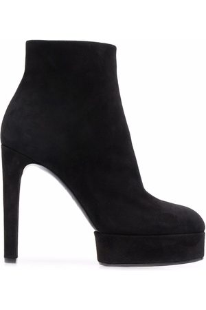 Casadei Women Ankle Boots - Ankle-length suede platform boots