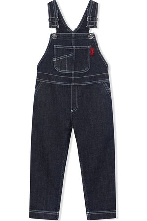 Dolce & Gabbana Boys Jeans - Straight-leg denim dungarees