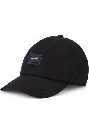 Dolce & Gabbana Boys Caps - Logo-patch stretch-cotton cap