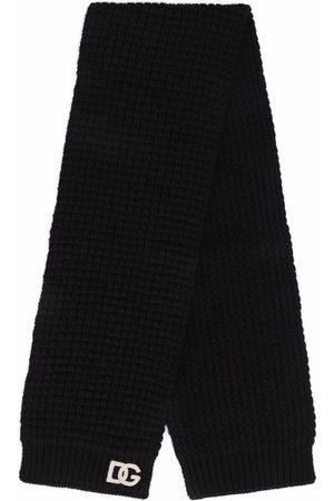 Dolce & Gabbana Boys Scarves - Chunky knit wool scarf