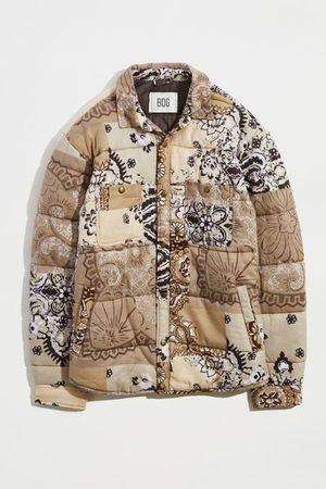 BDG Men Jackets - Pattern Quilted Shirt Jacket