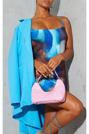 PRETTYLITTLETHING Women Purses - Snake Rounded Shoulder Bag