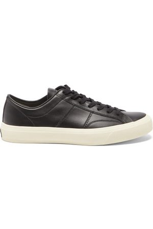 Tom Ford Cambridge Leather Trainers - Mens
