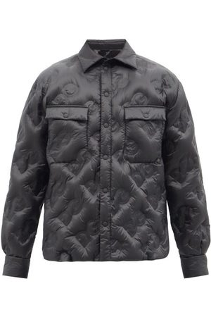 Dolce & Gabbana Logo-quilted Ripstop Jacket - Mens