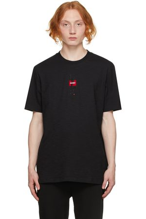 HUGO BOSS Men T-shirts - Black Dasabi T-Shirt